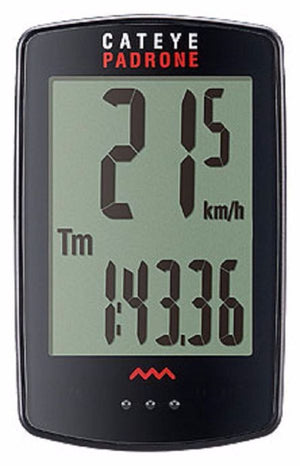 CatEye Padrone (with Stopwatch) Black CC-PA100W - Indoor Cyclery