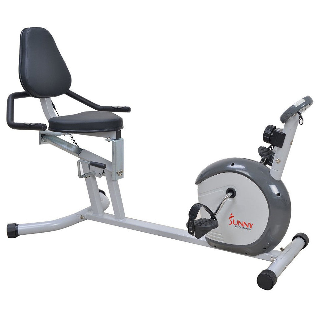 Sunny Health & Fitness SF-RB4601 Recumbent Bike - Indoor Cyclery