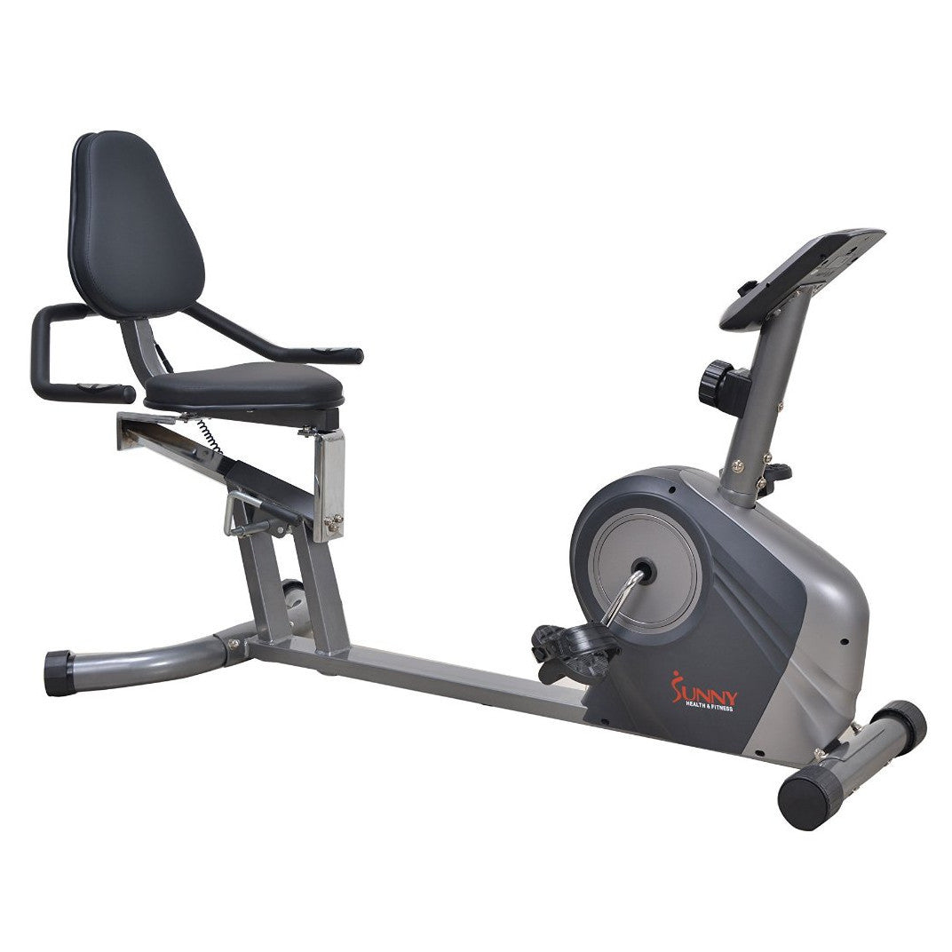 Sunny Health & Fitness Recument Bike - Indoor Cyclery