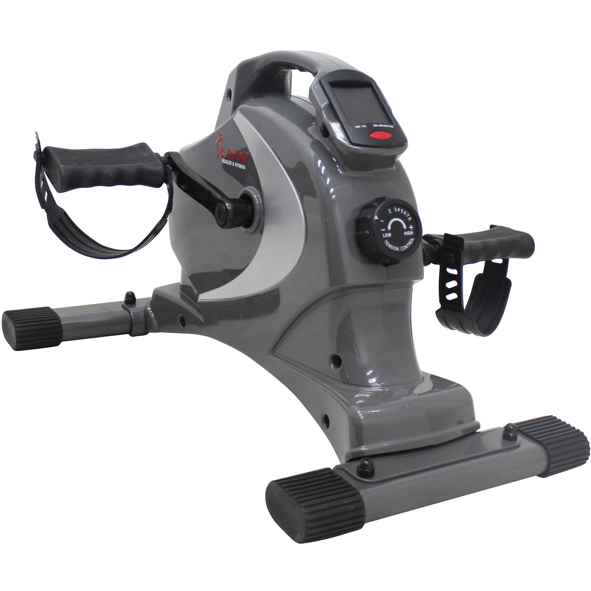 Sunny Health & Fitness SF-B0418 Magnetic Mini Exercise Bike - Indoor Cyclery