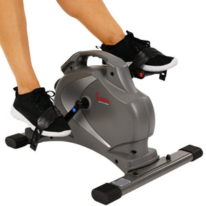 Sunny Health & Fitness Magnetic Mini Cycle - Indoor Cyclery