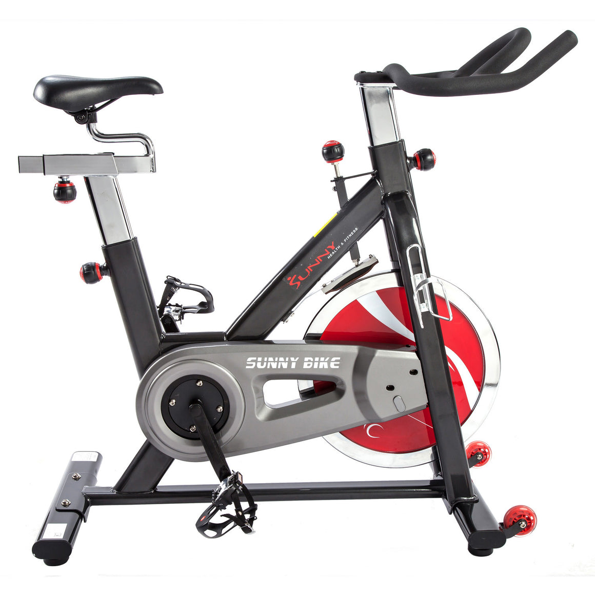 Sunny Health & Fitness SF-B1002 Belt Drive Indoor Cycling Bike - Indoor Cyclery