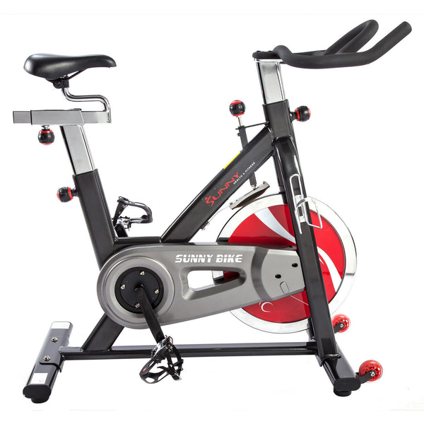 Sunny Health & Fitness SF-B1002 Belt Drive Indoor Cycling