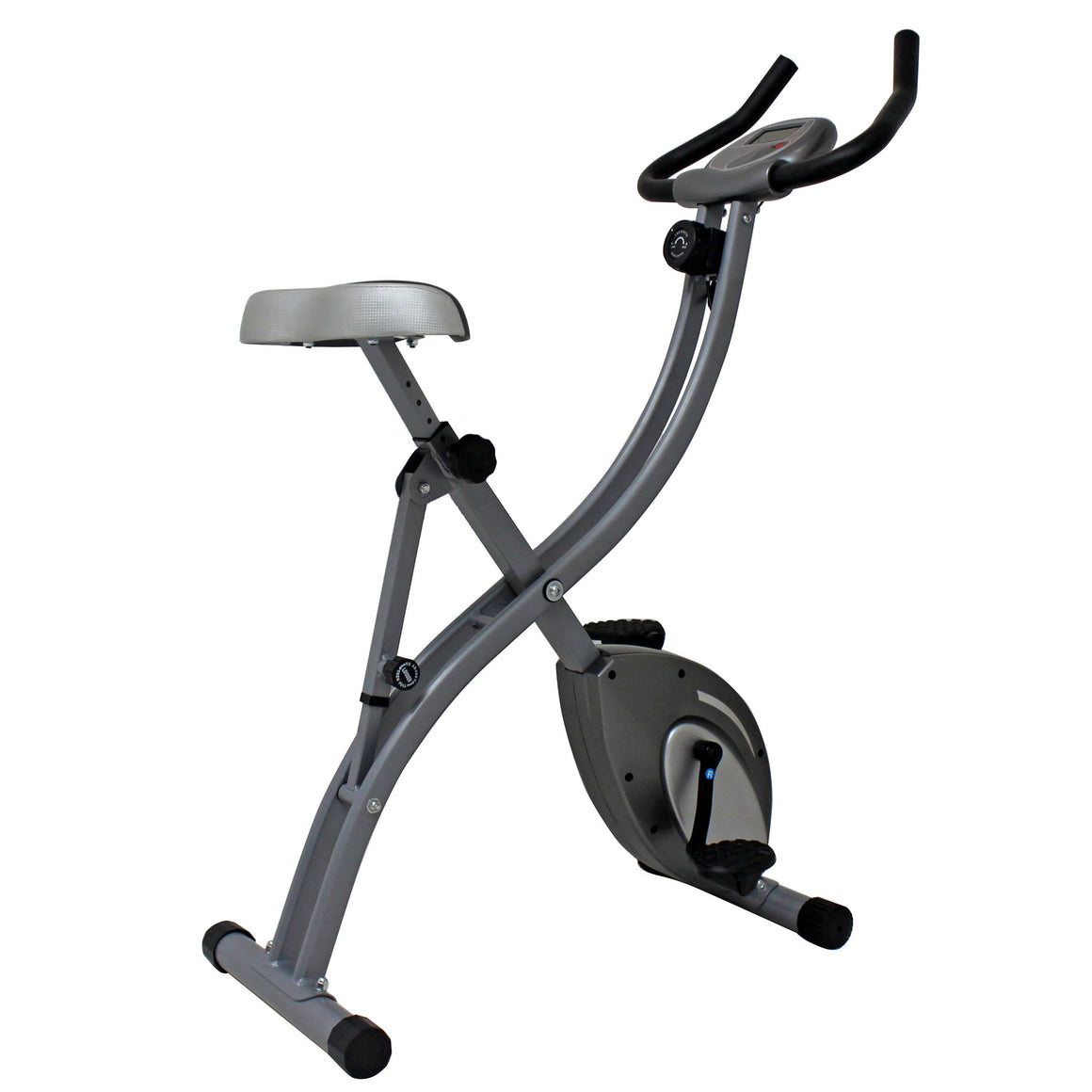 Sunny Health & Fitness Folding Upright Bike - Indoor Cyclery