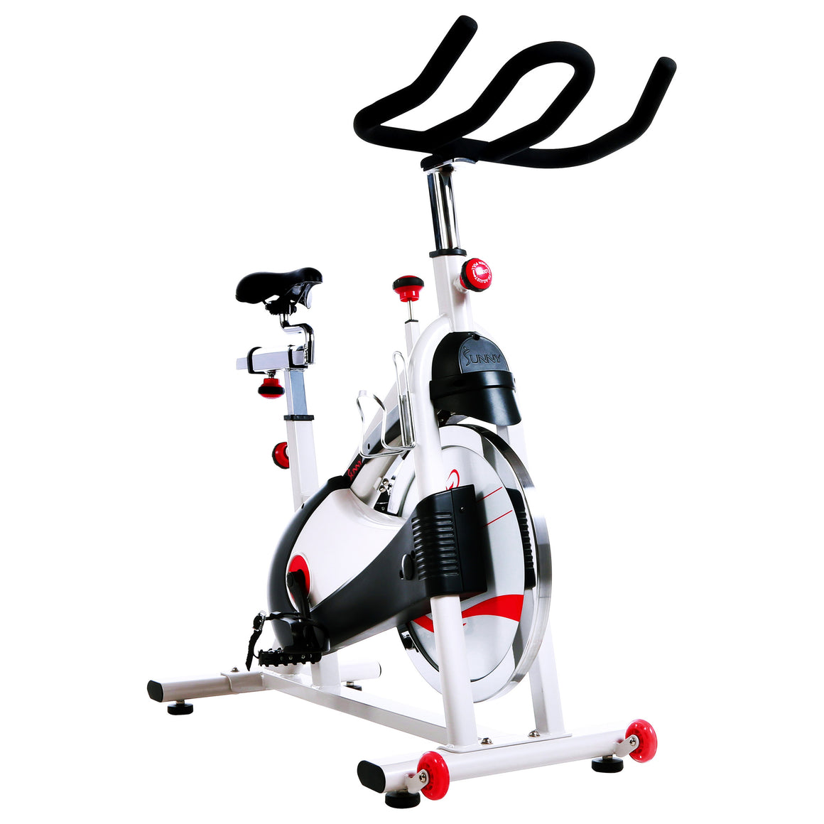 Sunny Health & Fitness SF-B1509 Belt Drive Premium Indoor Cycling Bike - Indoor Cyclery
