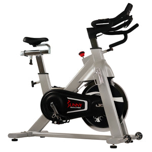 Sunny Health & Fitness 44lbs Flywheel Belt Drive Commercial Indoor Cycling Bike - Indoor Cyclery