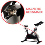 Sunny Health & Fitness Magnetic Belt Drive Indoor Cycling Bike with Tablet Holder – SF-B1805 - Indoor Cyclery