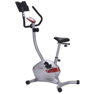 Sunny Health & Fitness SF-B2511H Magnetic Upright Bike with Tablet Holder - Indoor Cyclery