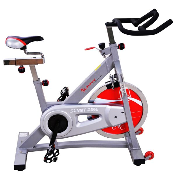 Sunny Health & Fitness SF-B901B 40lb Flywheel Belt Drive Pro Indoor Cycling Exercise Bike - Indoor Cyclery