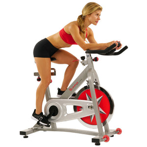 Sunny Health & Fitness SF-B901 40lb Flywheel Chain Drive Pro Indoor Cycling Exercise Bike - Indoor Cyclery