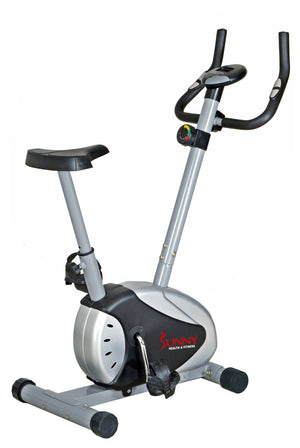 Sunny Health & Fitness Magnetic Upright Bike - Indoor Cyclery