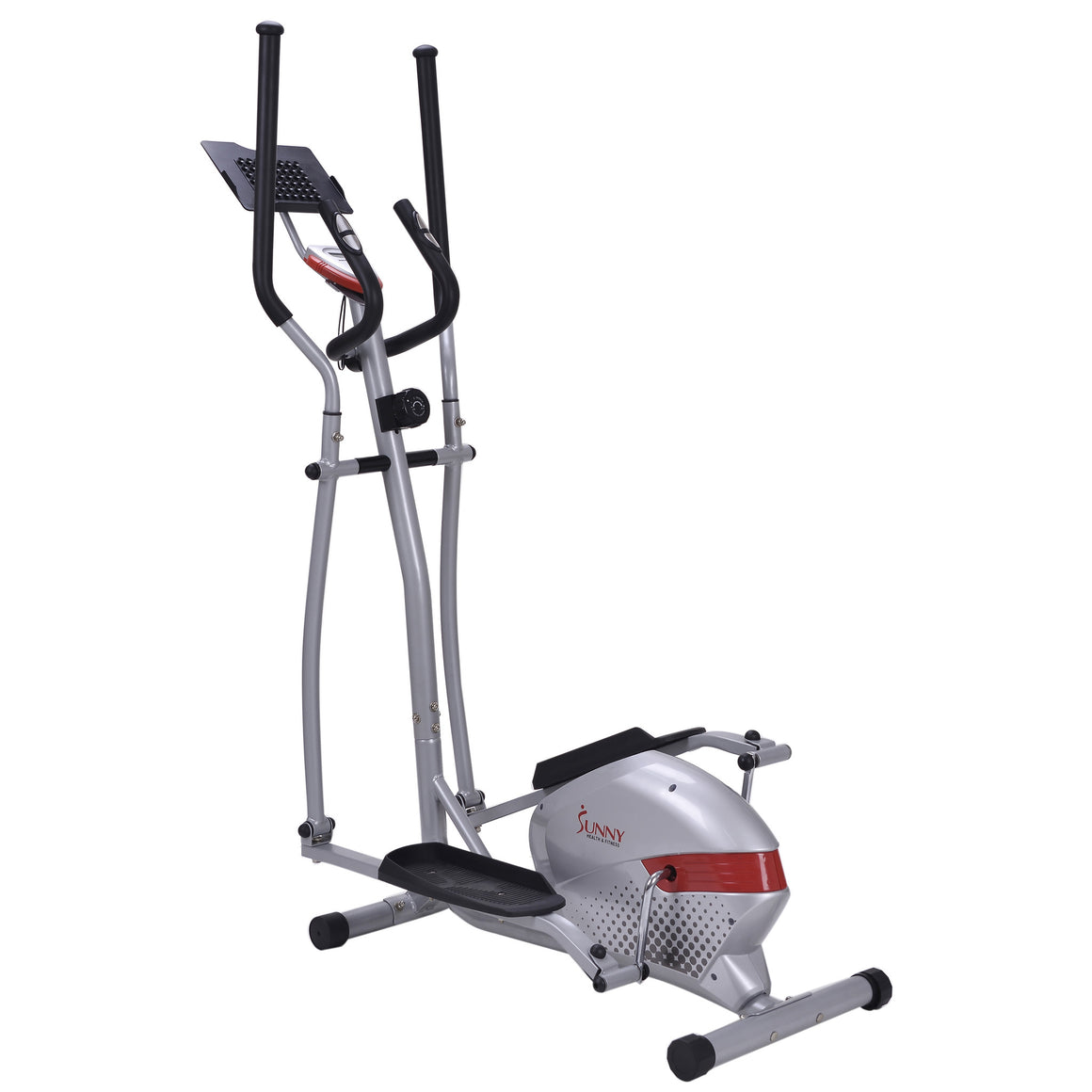 Sunny Health & Fitness SF-E3416H Magnetic Elliptical Trainer with Tablet Holder - Indoor Cyclery