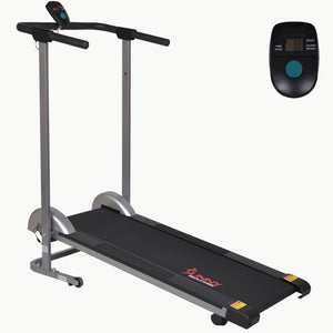 Sunny Health & Fitness SF-T1407M Manual Walking Treadmill - Indoor Cyclery