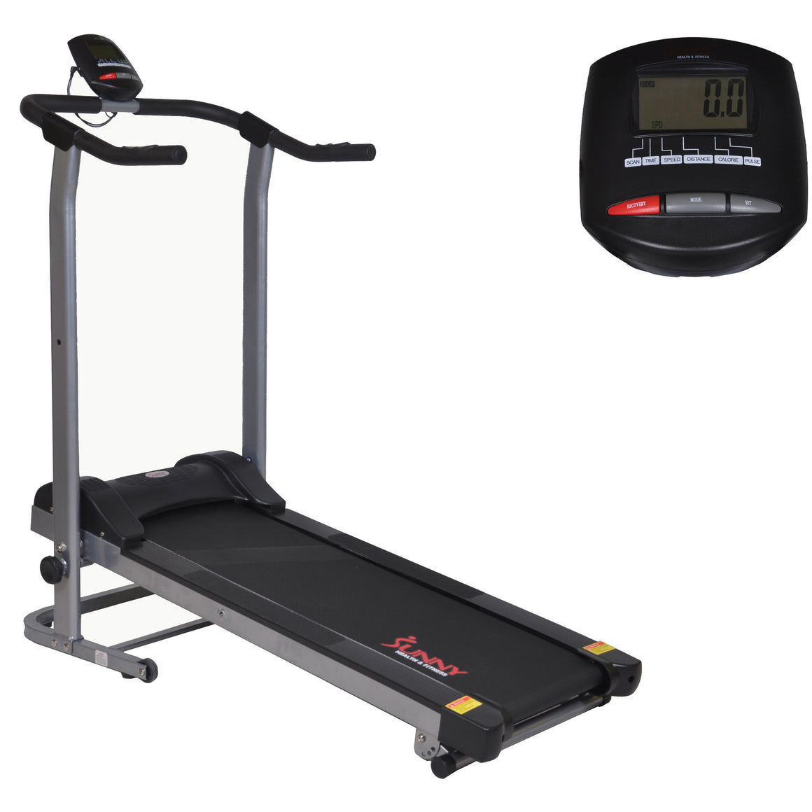 Sunny Health & Fitness SF-T1408M Manual Walking Treadmill - Indoor Cyclery