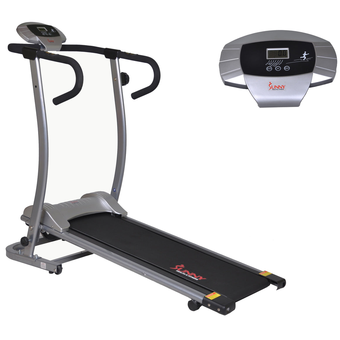 Sunny Health & Fitness SF-T1409M Magnetic Manual Treadmill - Indoor Cyclery
