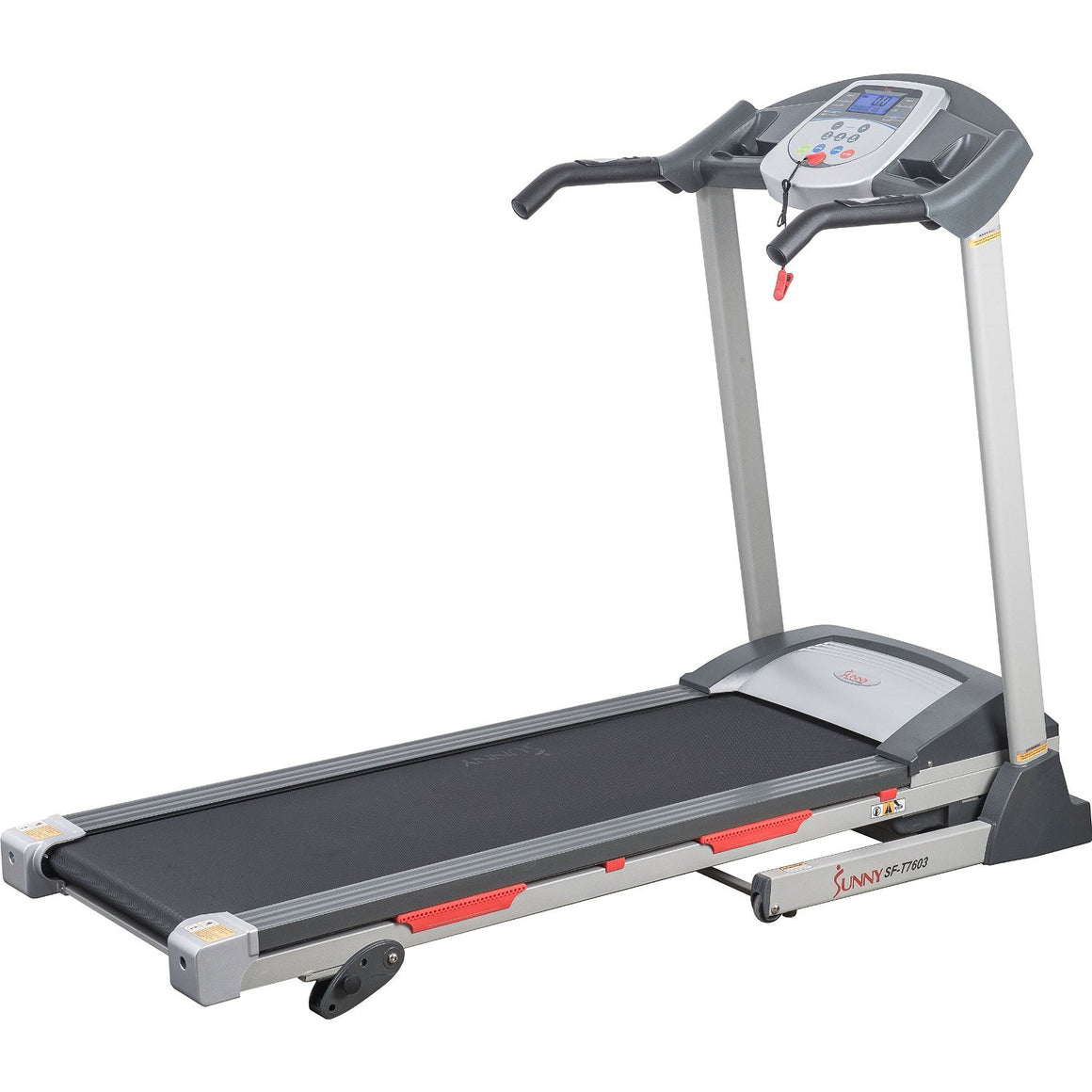 Sunny Health & Fitness SF-T7603 Motorized Treadmill - Indoor Cyclery