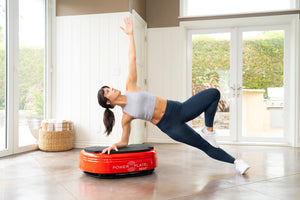 Power Plate MOVE Vibration Trainer (Red) + Dual Sphere