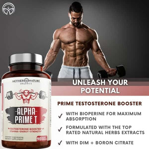 Alpha Prime T by Mother Nature Organics
