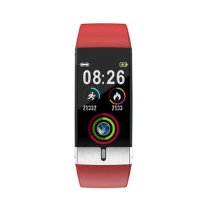 Smart Watch Blood Pressure Heart Rate & Body Temperature Monitor with Electrocardiogram Display by ALL TECH ADDICT