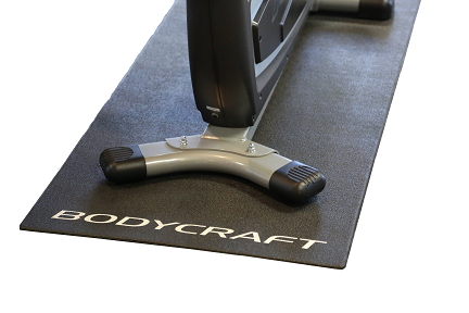 Large Bodycraft Protective Exercise Floor Mat - Indoor Cyclery