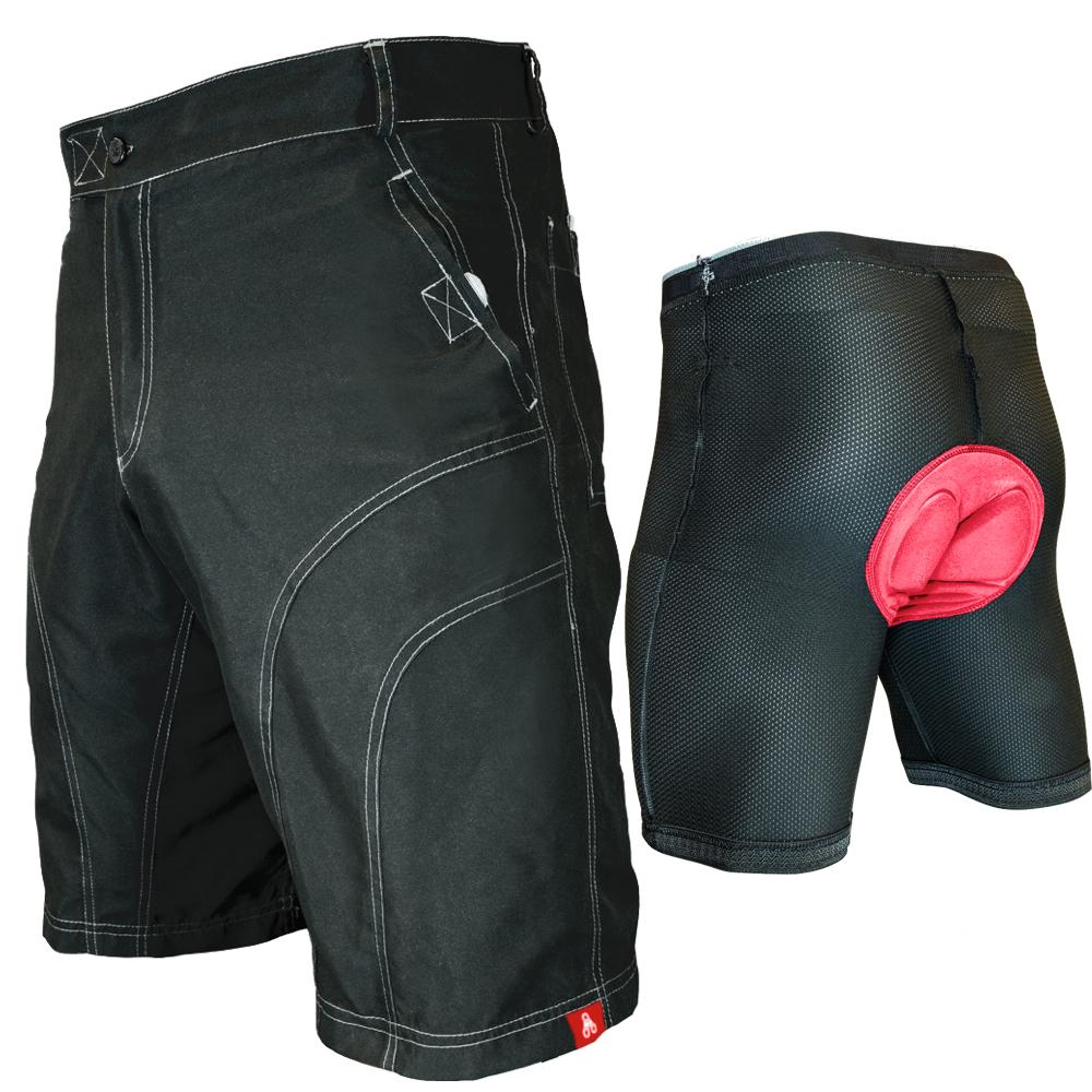 Urban Cycling Black Pub Crawler Shorts - Indoor Cyclery
