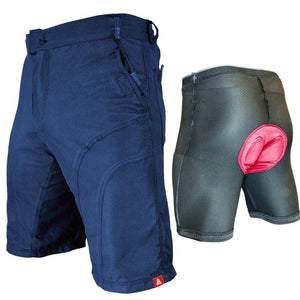 Urban Cycling Blue Pub Crawler Shorts - Indoor Cyclery