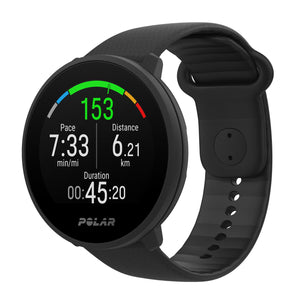 POLAR UNITE FITNESS WATCH WITH WRIST-BASED HEART RATE AND SLEEP TRACKING | BLACK