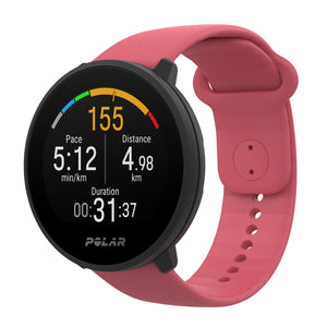 POLAR UNITE FITNESS WATCH WITH WRIST-BASED HEART RATE AND SLEEP TRACKING | PINK