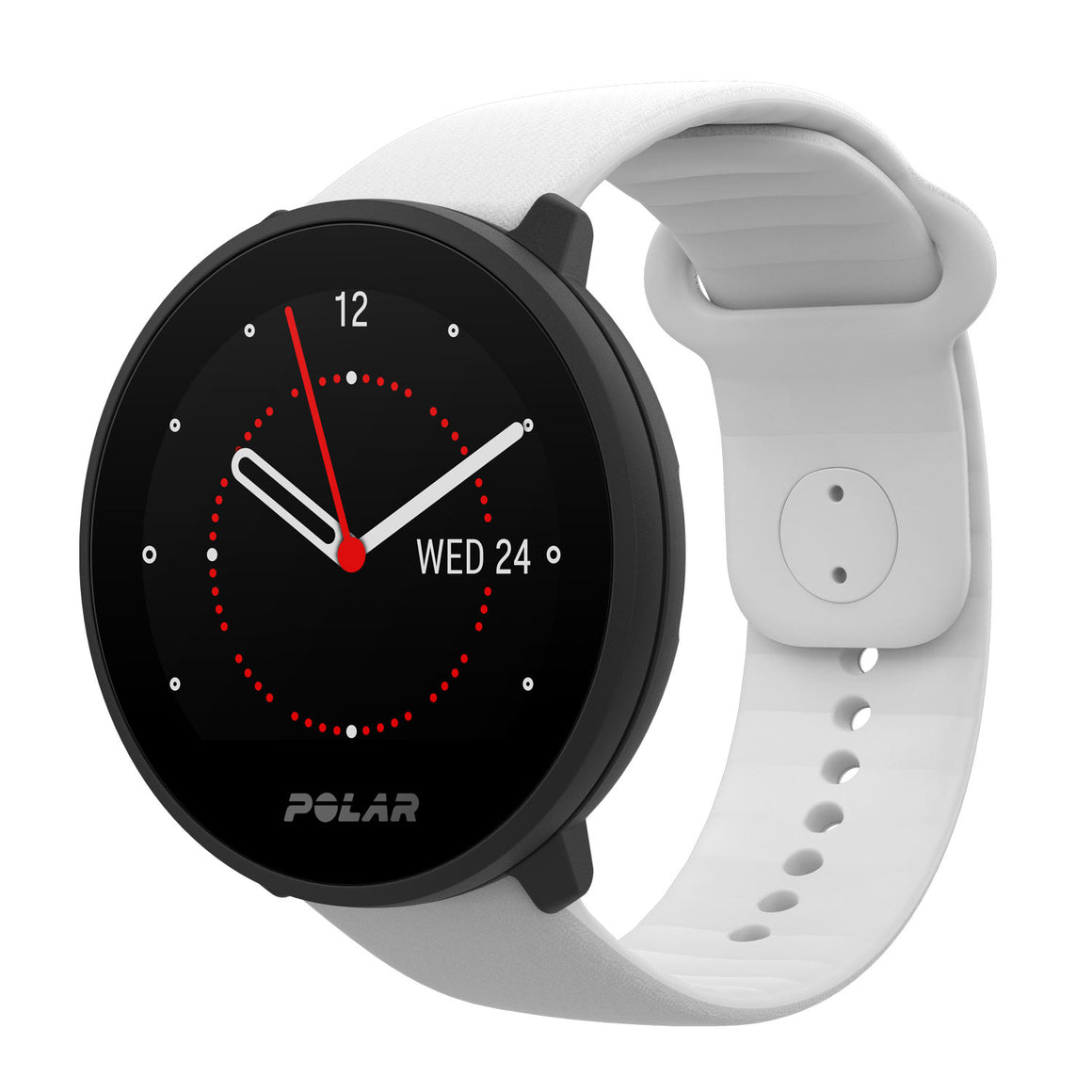 POLAR UNITE FITNESS WATCH WITH WRIST-BASED HEART RATE AND SLEEP TRACKING | WHITE