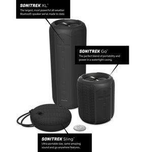 Sonitrek Sling Smart Bluetooth 5 Portable Wireless Waterproof Speaker