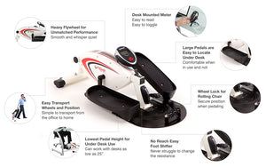 FitDesk Under Desk Elliptical - Indoor Cyclery