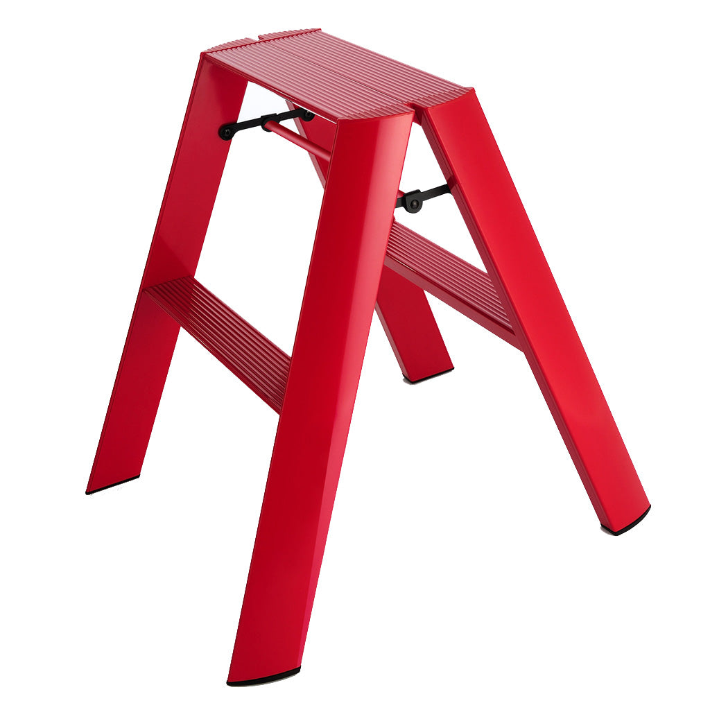 Niwaki Lucano 2 Step Stool in Red