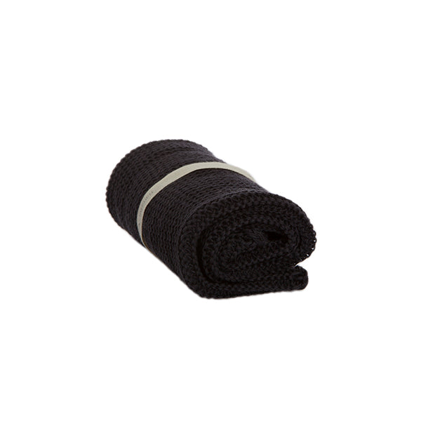 Wash Cloth in Black