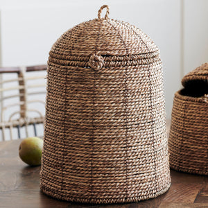Rama Basket with Lid in Large