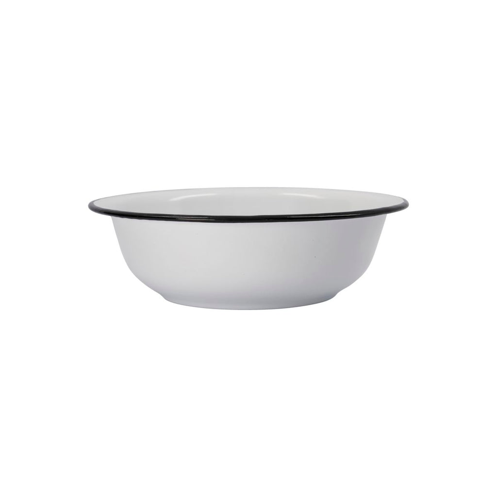 White Enamel Small Bowl
