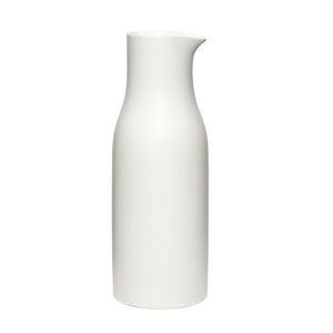 Tall White Porcelain Jug
