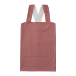 Children's Pinafore Apron in Clay