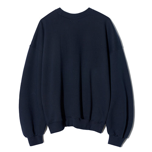 Chubby Baseball Sweatshirt in Navy