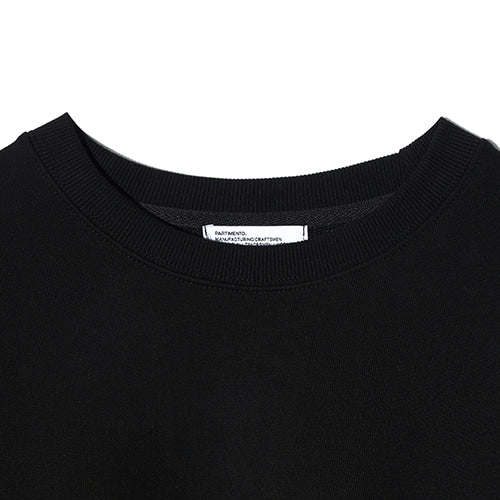 Smile Embroidered Logo Sweatshirt in Black