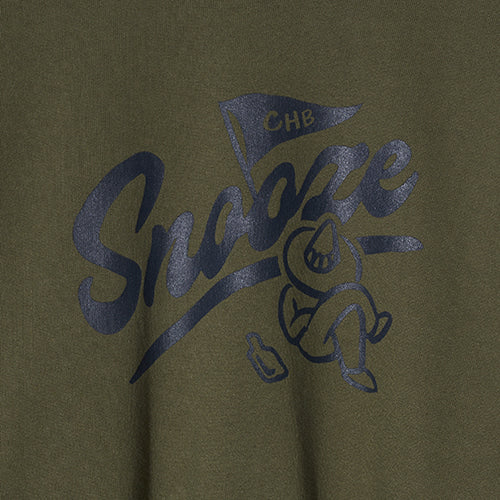 Chubby Snooze Sweatshirt in Khaki