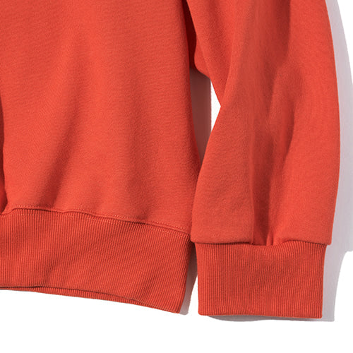 Chubby Roller Sweatshirt in Orange