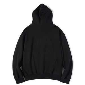 Chubby Surf Board Hooded Sweatshirt in Black