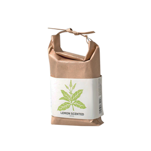 Grow Your Own Basil in Japanese Paper Bag - Lemon Scented Basil