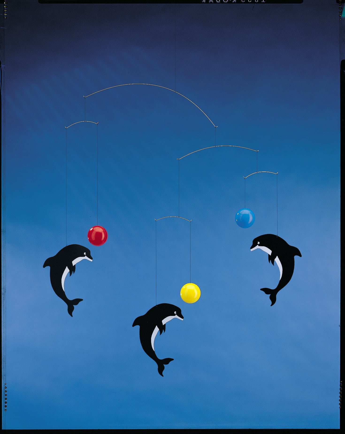 Leaping Dolphins Mobile in Multi Colours