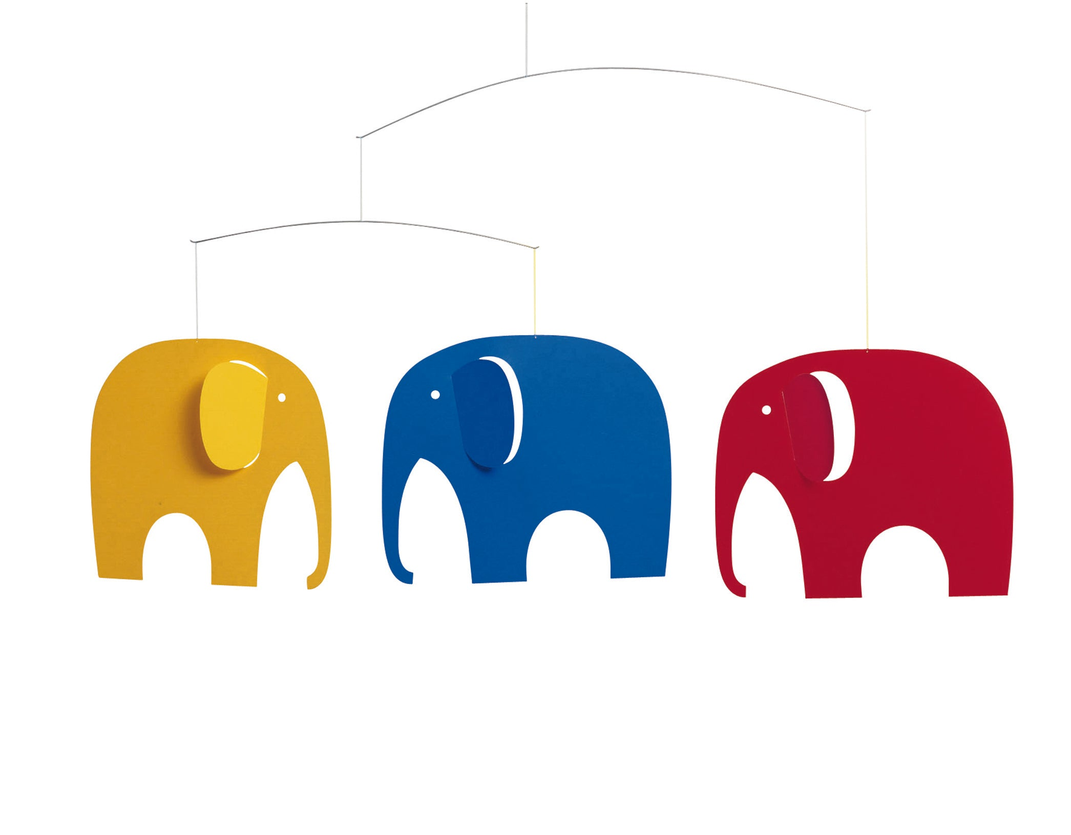 Elephant Party in Multi Colours