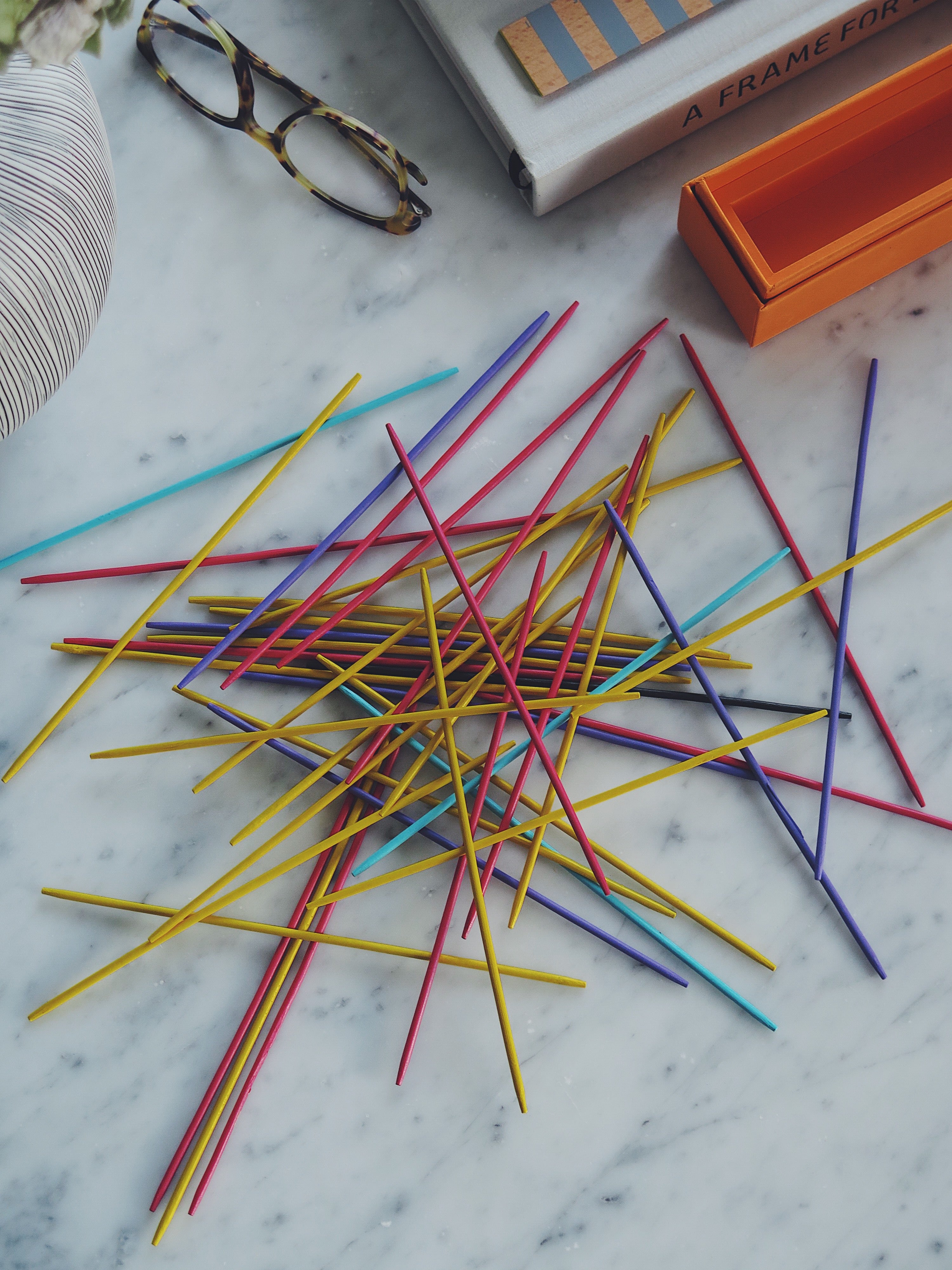 Coffee Table Game Pick Up Sticks