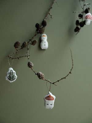 Hanging Ornaments Set of 4 - Forest
