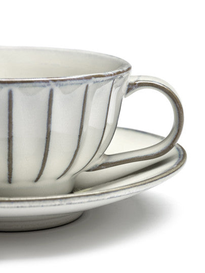 INKU Saucer Plate for Cappuccino Cup and Coffee Cup