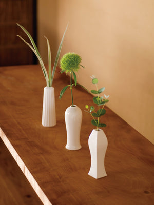JICON Porcelain Flower Vase in Shimentori(Rectangle)