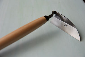 Left Handed Weeding Hoe with Pine Handle